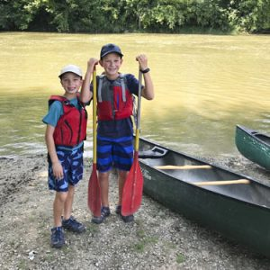 canoeing the White River
