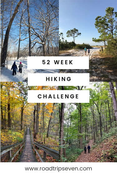Why You Should do a 52 Week Hiking Challenge