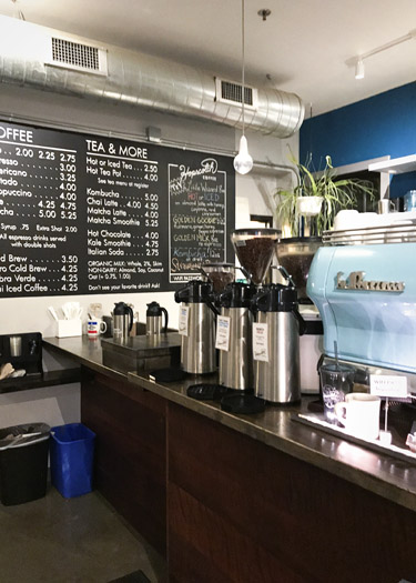 Hopscotch Coffee in Bloomington, Indiana
