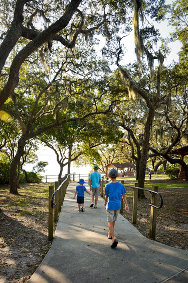 Camp Helen State Park on Florida's 30A