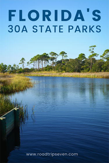 White sand beaches, emerald ocean waters, rare coastal dune lakes, and mature forests are just a few of the reasons to visit the state parks along Florida's scenic 30A highway. At northwestern Florida state parks like Camp Helen, Grayton Beach, and Topsail Hill, you can enjoy the beach and so much more! Activities like hiking, biking, camping, kayaking and paddle-boarding.  Here we breakdown everything you need to know before visiting one of the beautiful state parks along Florida's 30A!