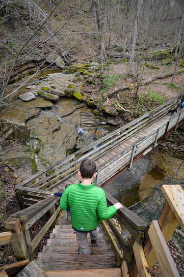 Indiana State Parks Challenge: Clifty Falls Four Falls Challenge