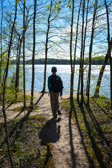 Indianapolis Outdoor Escapes: Hiking at Eagle Creek Park
