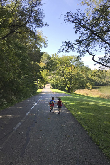 Harrison Trace Trail at Fort Harrison State Park