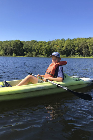 Indiana State Park DNR Fitness Challenge - Kayaking