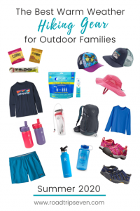 Planning on hiking this summer? With the benefits of fresh air, beautiful scenery, and exercise, hiking is now more popular than ever before. Whether you are hiking a trail at a nature preserve, state park, or national park site, some basic gear is key to an enjoyable warm-weather hike. Here we give you the rundown on our family's favorite warm-weather, summer hiking gear.