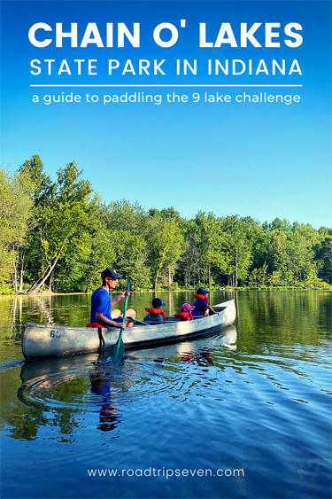 Have you ever paddled a water trail? We had no clue such trails existed, until last year when we learned of the 9 Lake Challenge at Indiana's Chain O' Lakes State Park. This unique challenge was created by the Indiana Department of Natural Resources to get Hoosiers moving at its state parks and reservoirs. To complete the challenge, you paddle a 5-mile trail connecting nine picturesque lakes at Chain O'Lakes State Park. Here we detail our experience paddling the challenge and offer useful tips for anyone interested in taking the 9 Lake Challenge!