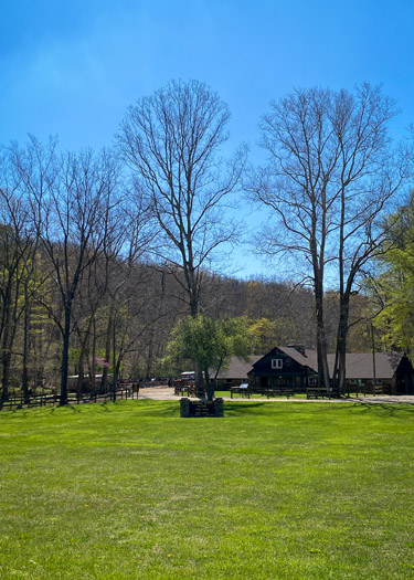 Brown County Horse Stable Barn